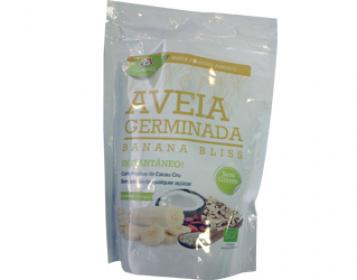 aveia germinada banana bliss iswari 400gr
