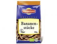dried banana pieces morgenland 100gr