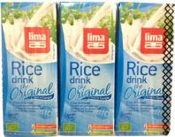 rice drink gluten free lima 3x200ml