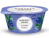 vegan cashewghurt with blueberries harvest moon 125gr