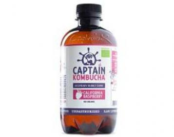 captain kombucha de framboesa 400ml