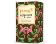 Mint and licorice tea pukka 20x1,5gr
