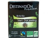 organic green tea  destination 50x2gr