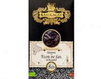 chocolate flor de sal algarve 80% cacau nau do cacau 80gr