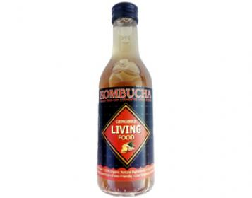 kombucha de gengibre living food 250ml