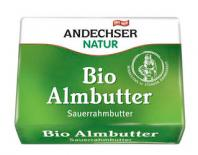 fresh butter 82% andechser 250gr