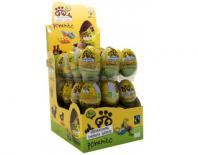 chocolate with milk egg gluten free ponchito 20gr