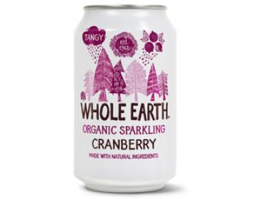 refrigerante de arando whole earth 33cl