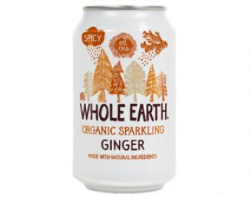 refrigerante gengibre whole earth 33cl
