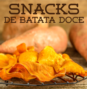 snacks batata doce