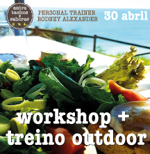 workshop + treino outdoor