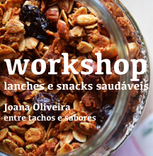 workshop lanches e snacks saud�veis