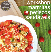 Workshop Marmitas e petiscos