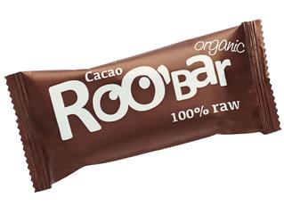 raw cocoa bar gluten free roobar 50g