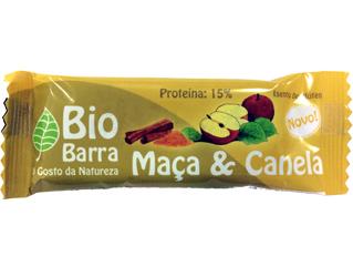 barrita frutos secos c/ maçã e canela s/glúten bio barra 30g