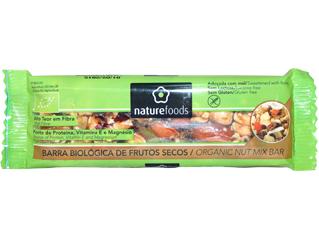 barrita frutos secos sem glúten naturefoods 40gr