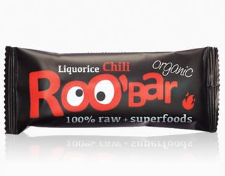 licorine and chili bar gluten free roobar 50gr