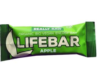 apple bar gluten free lifebar 47gr