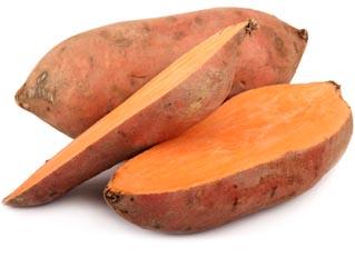 batata doce laranja