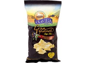 crisps fried in olive oil añavieja 125gr