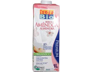 almond drink gluten free isola bio 1L