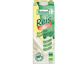 bebida biológica de arroz sem glúten natumi 1L