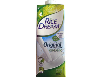 bebida biológica de arroz rice dream 1L