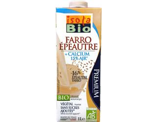 spelt beverage with calcium isola bio 1lt