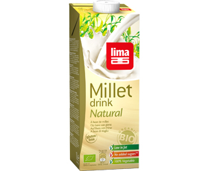 millet drink gluten free lima 1lt