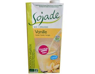 soya drink with vanilla cálcio sojade 1L