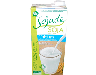 soya drink soja cálcio sojade 1L