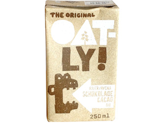 oat drink with cocoa oatly 250ml