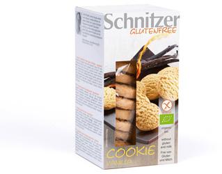 biscoitos de baunilha s/glúten schnitzer 150gr