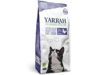 fish/chicken biscuits sterilised grown cats yarrah 700gr