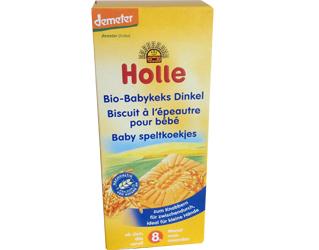 baby spelt biscuits >8 months holle 150gr