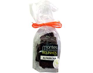 bolachas de alfarroba s/gluten montes de paladares 125gr