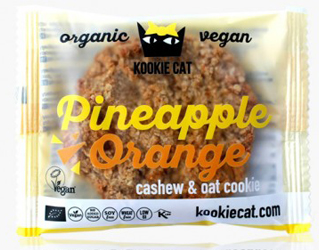 cookie orange & pineapple gluten free kookie cat 50g
