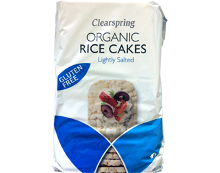 whole rice cakes gluten free clearspring100gr