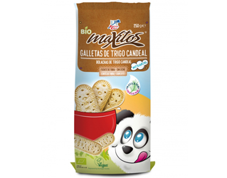 whole candeal wheat biscuits maxitos 210gr