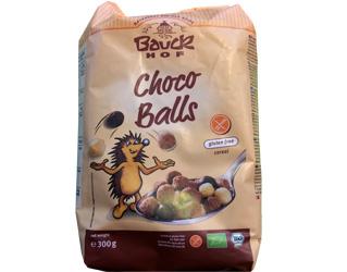 bolinhas de cereais com chocolate s/gluten bauck hof 300gr