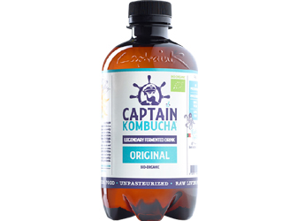 captain kombucha original 400ml