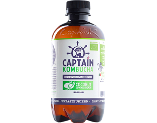 captain kombucha de côco original 400ml