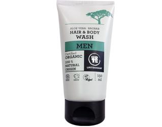 hair and body wash men urtekram 150ml
