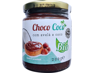 spreading coconut butter with cocoa/hazelnut provida 200gr