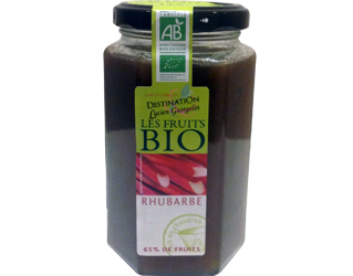 rhubarb jam destination 300gr