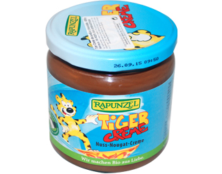 hazelnut and chocolate cream rapunzel 400gr