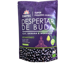 buddha´s awake açai, banana, strawberry iswari 360gr
