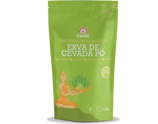 barley grass powder gluten free iswari 125gr