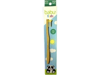 kids tooth brush extra soft bristle babu 1unid