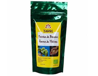 farinha de banana s/gluten iswari 125gr